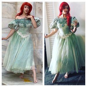 Ariel Green dress